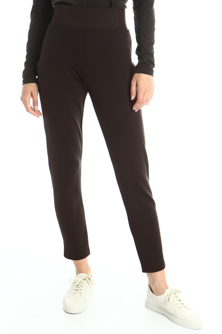 Technical jersey jeggings Intrend