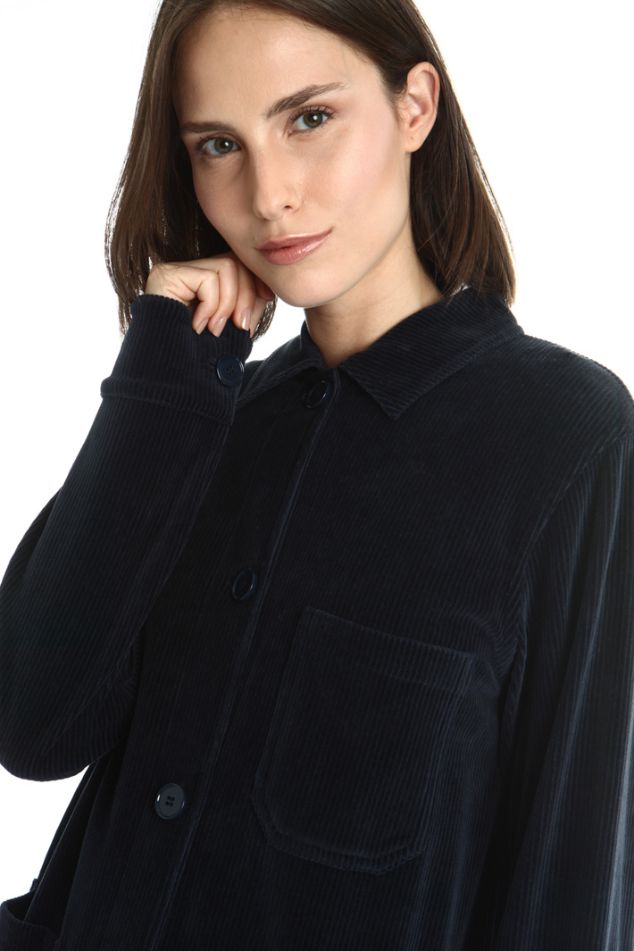 Velvet jacket Intrend