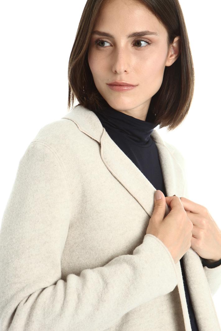 Boiled wool blazer Intrend