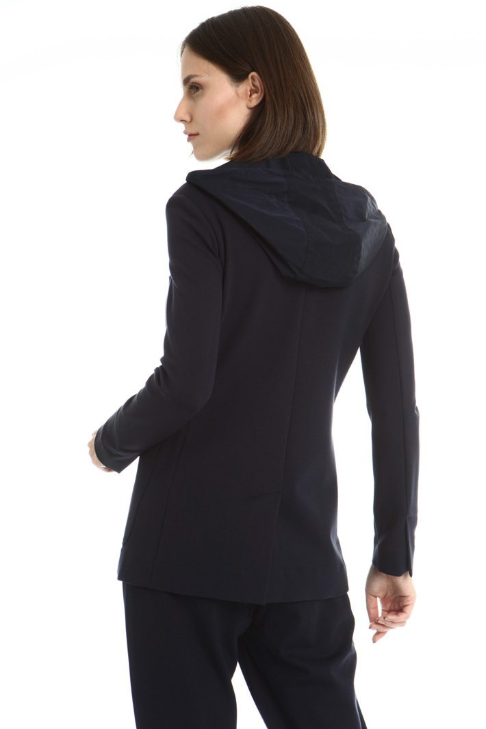 Dual fabric jacket Intrend