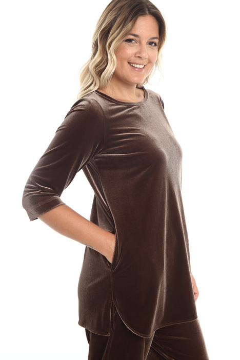 Velvet jersey tunic Intrend