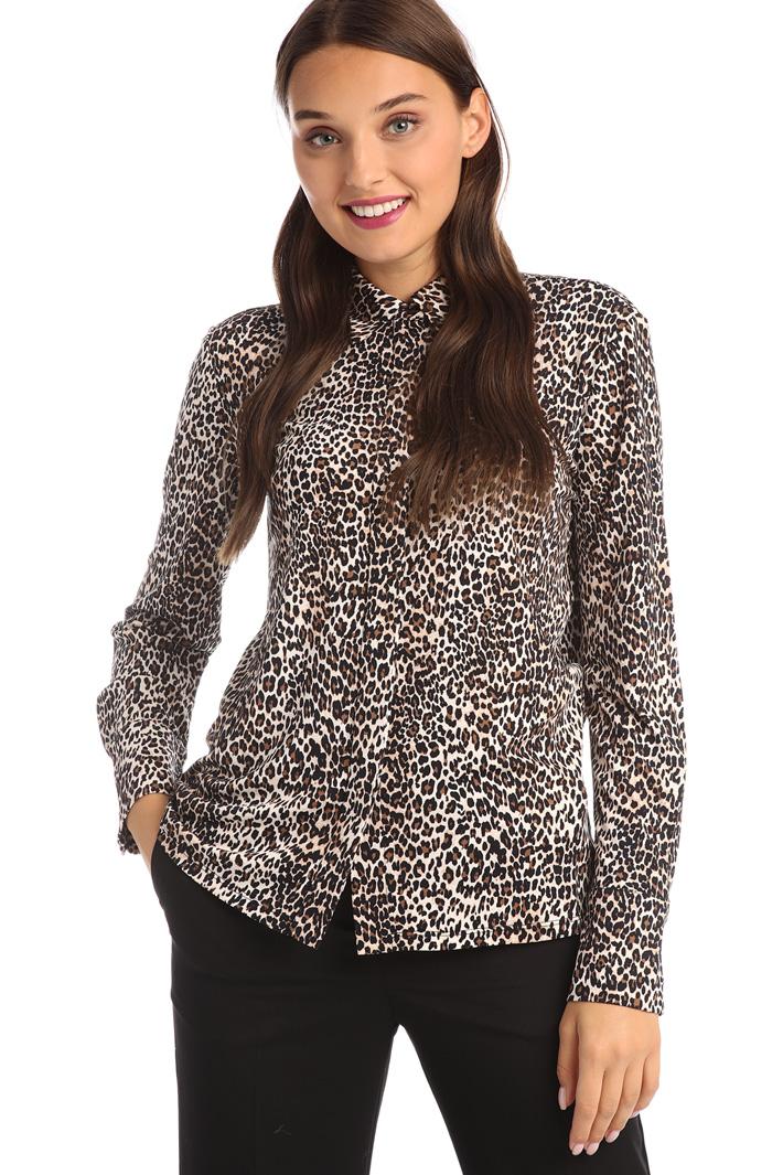 Animal print shirt Intrend