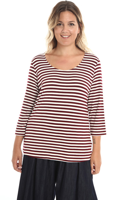T-shirt in jersey stretch Intrend