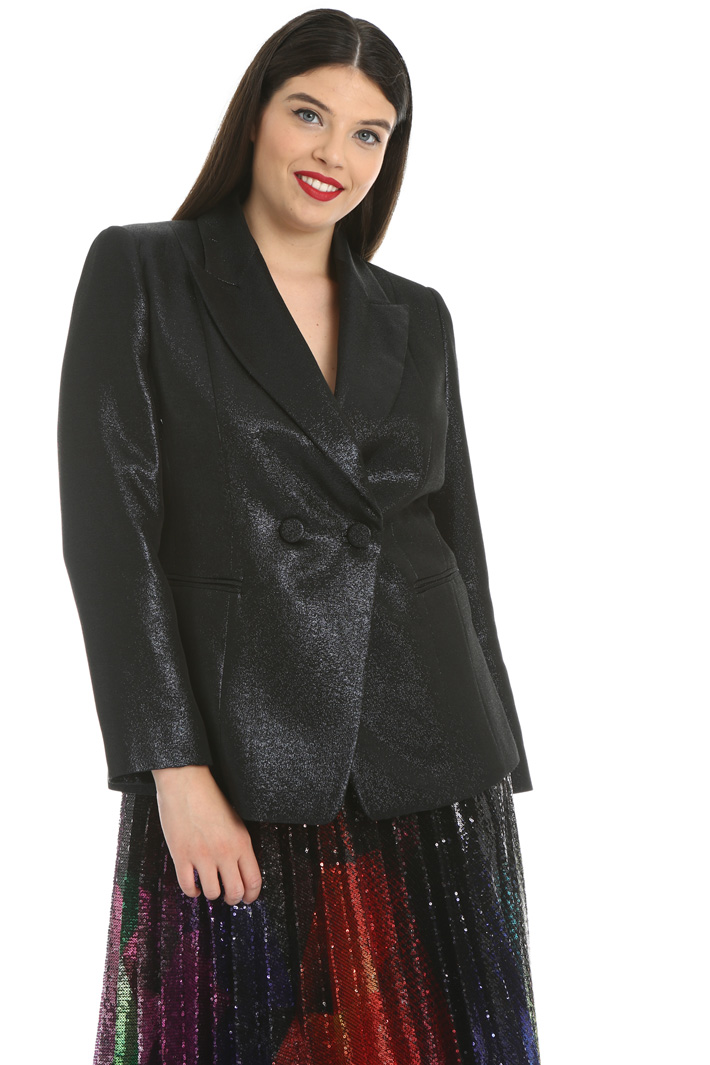 Lurex crepe jacket Intrend
