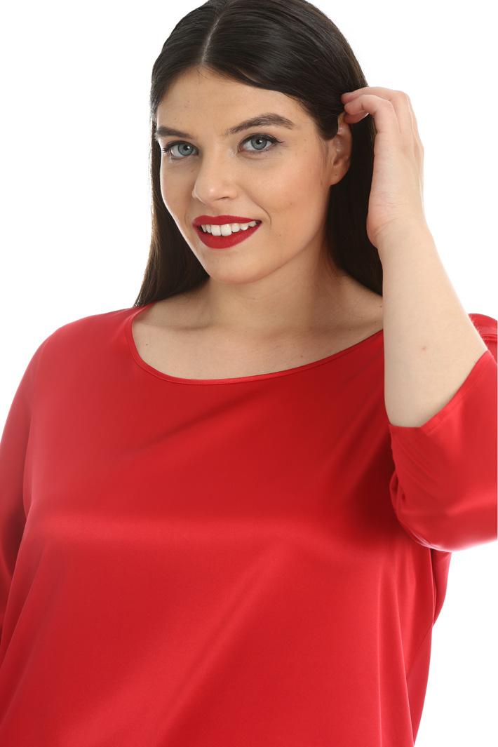 Pure silk satin blouse Intrend