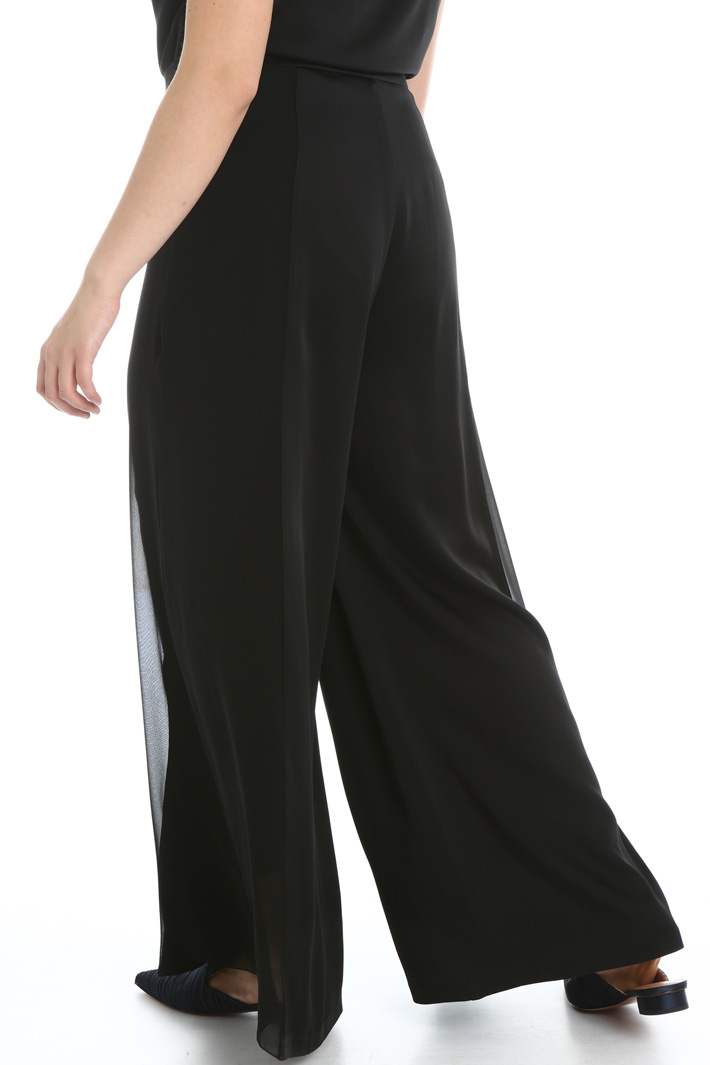Satin and silk trousers Intrend