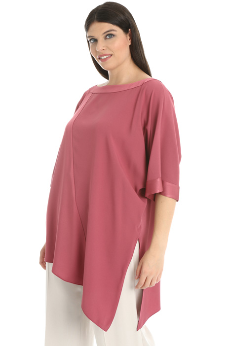 Envers satin tunic Intrend
