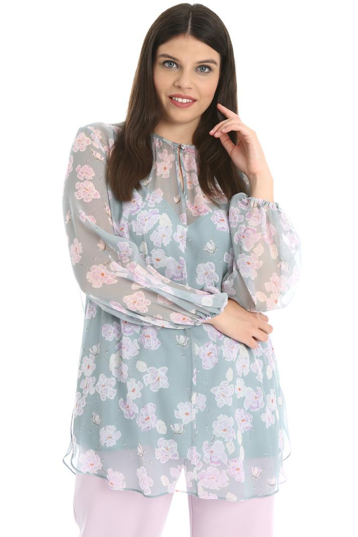 Georgette silk tunic Intrend