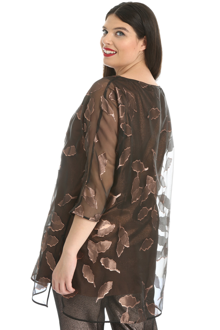 Tunic in voile  Intrend