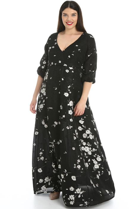 Jacquard lamé dress Intrend