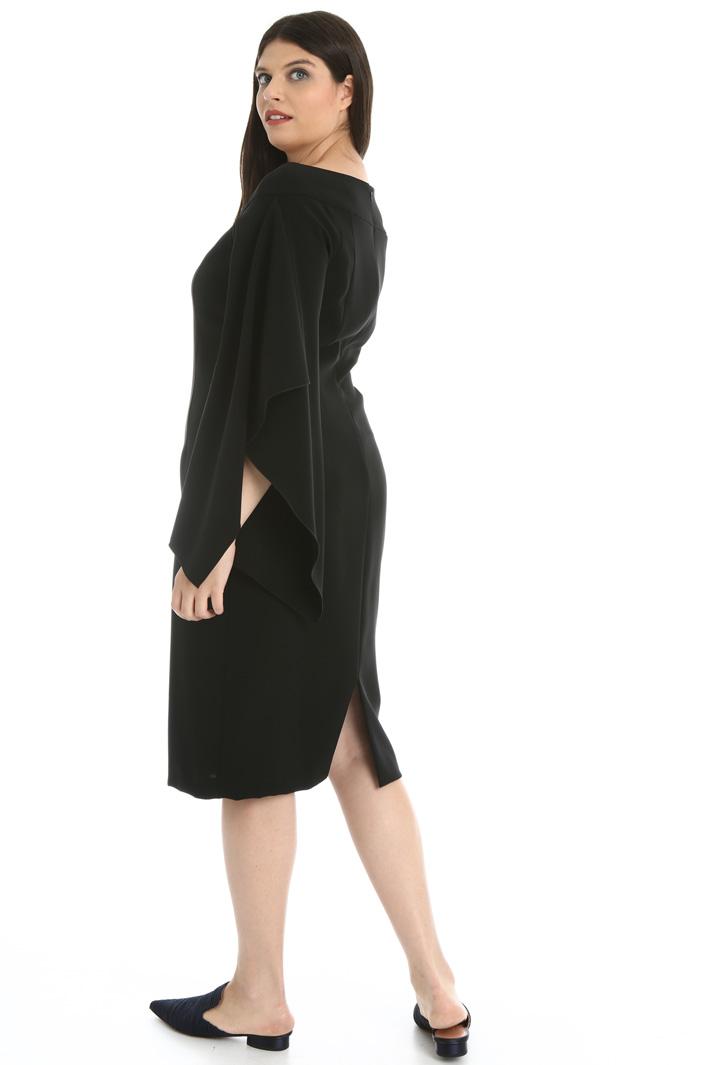 Cady tube dress with flounces Intrend