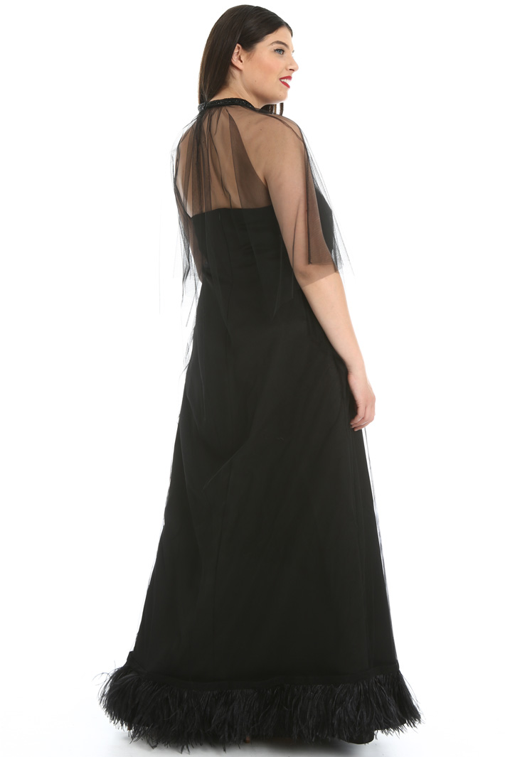 Tulle and duchesse dress Intrend
