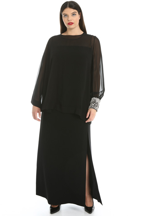 Silk and cady tunic Intrend
