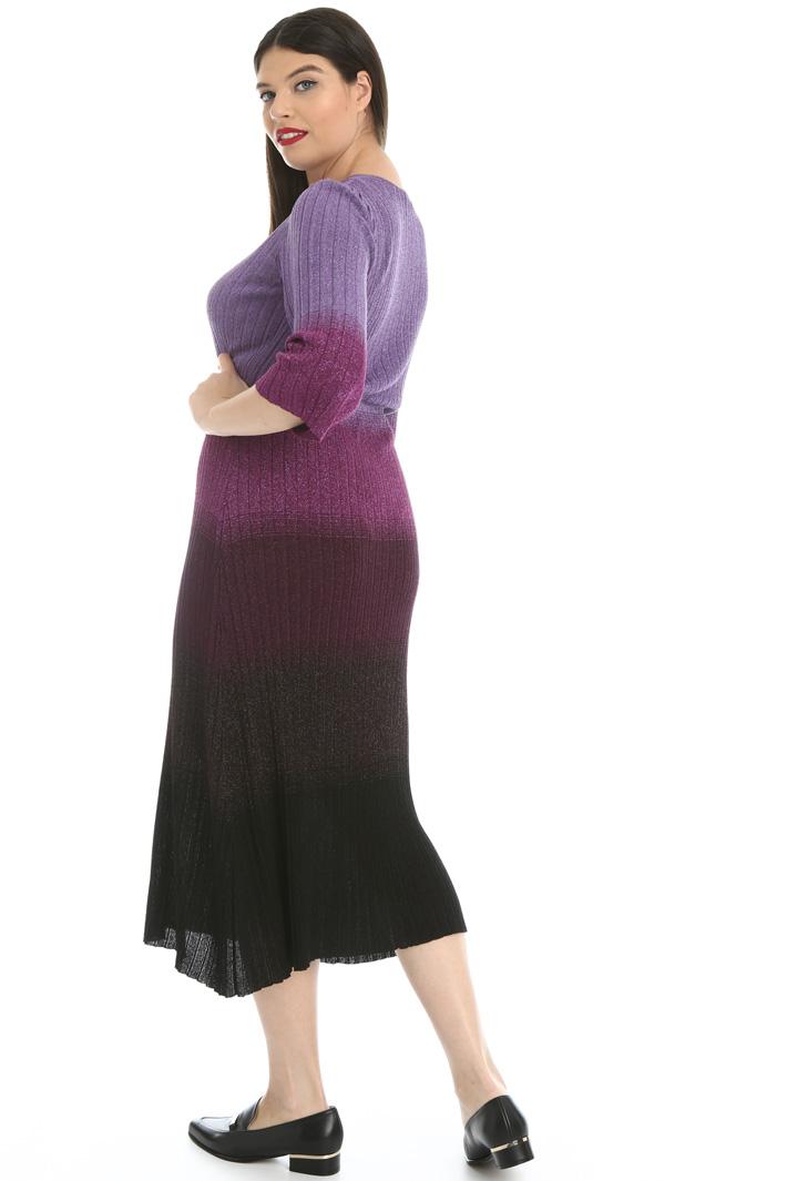 Lamé knit dress Intrend