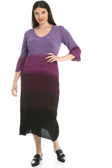 Lamé knit dress Intrend