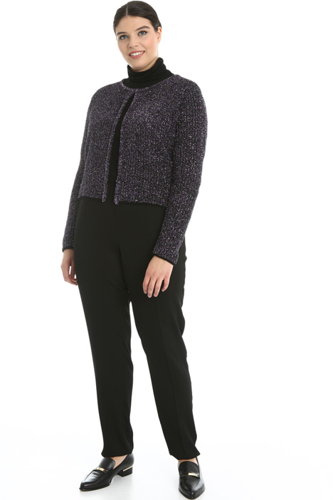 Lamé wool cardigan Intrend