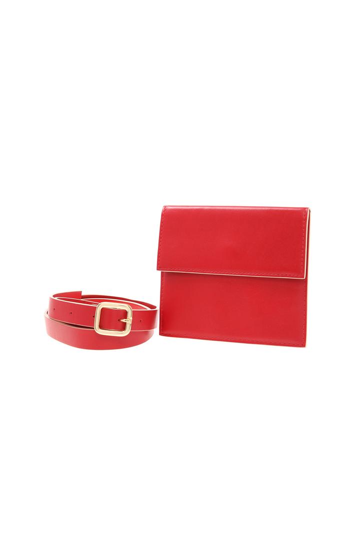 Leather belt bag  Intrend