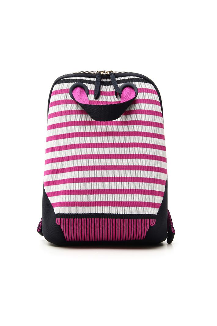 Stripe knit rucksack  Intrend