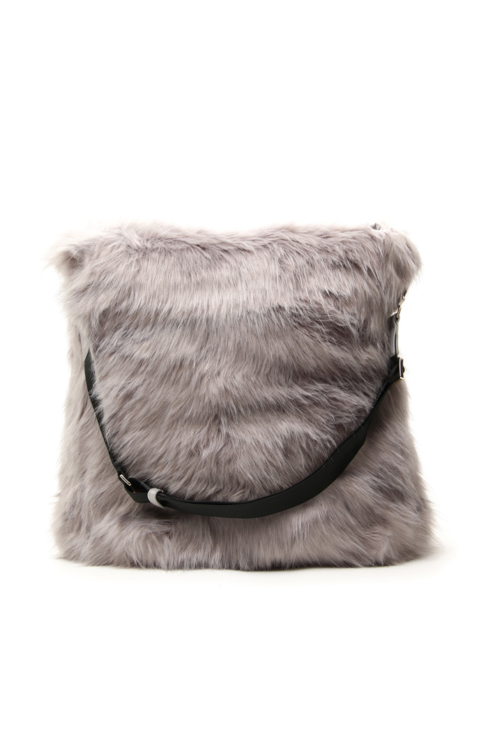 Borsa in peluche reversibile  Intrend