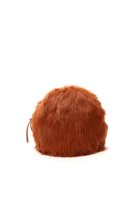 Borsa tonda in peluche Intrend