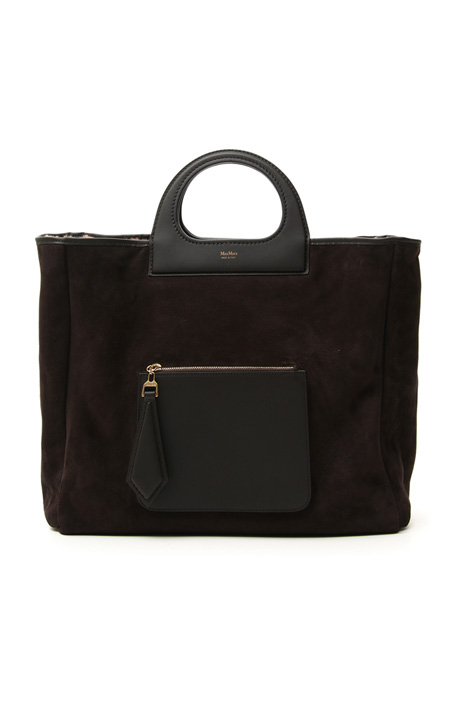 Borsa in suede reversibile Intrend