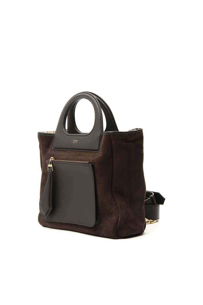 Reversible suede bag Intrend
