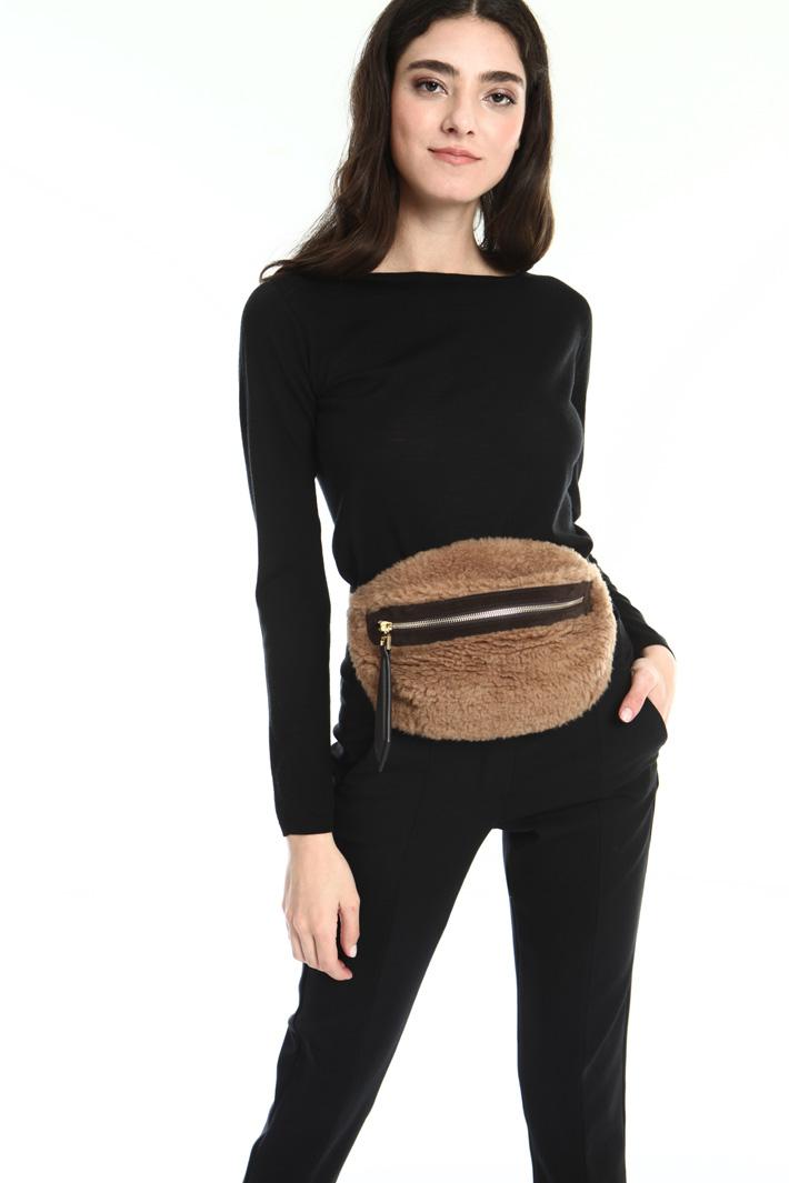 Wool belt bag Intrend
