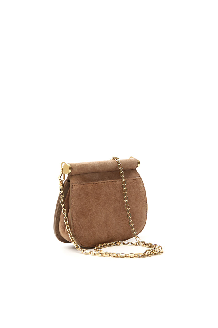 Suede bag Intrend