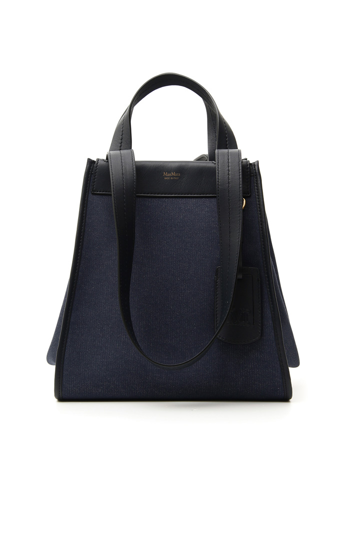 Reversible denim shopping bag Intrend