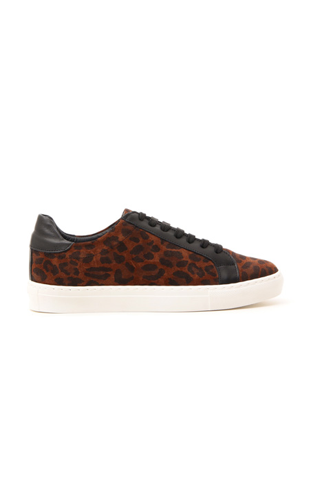 Sneakers in suede stampata Intrend