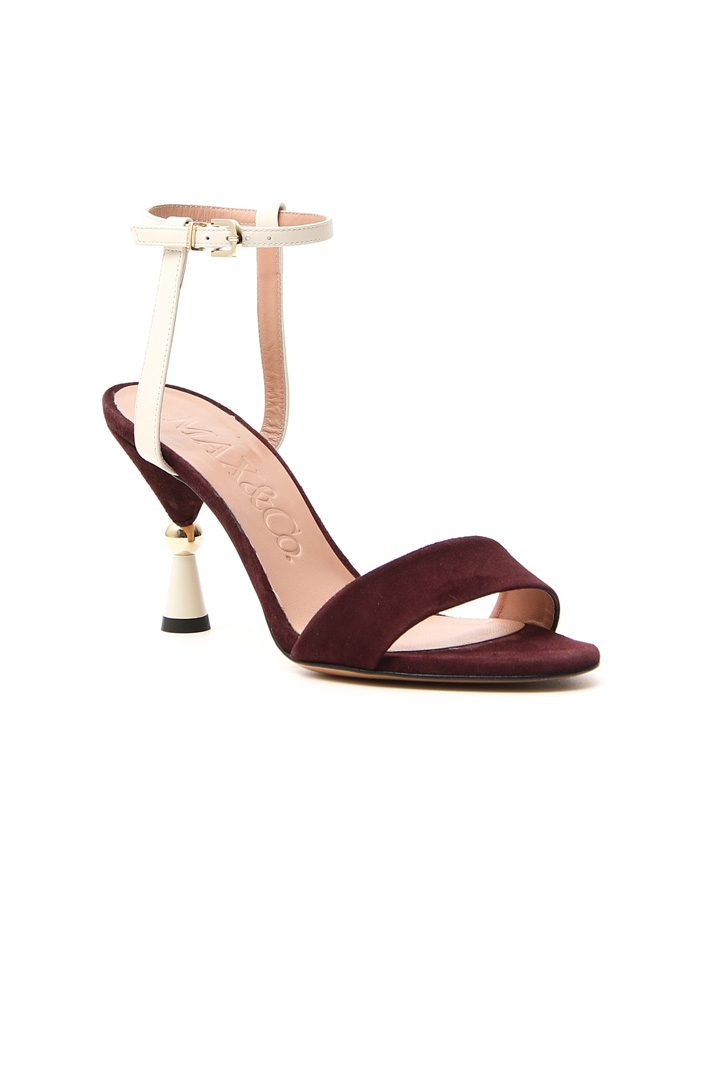 Sandals with hourglass heel Intrend