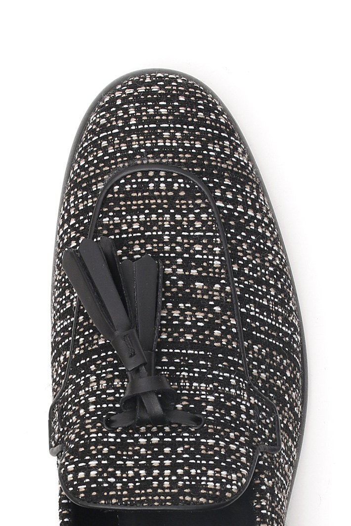 Jacquard moccasin Intrend
