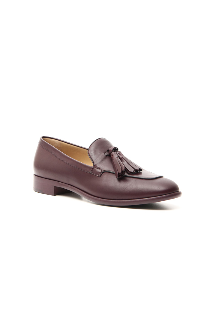 Leather loafer Intrend