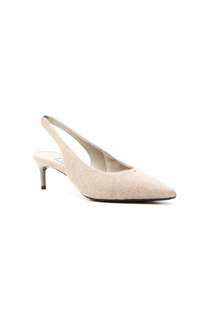 Slingback in cachemire Intrend