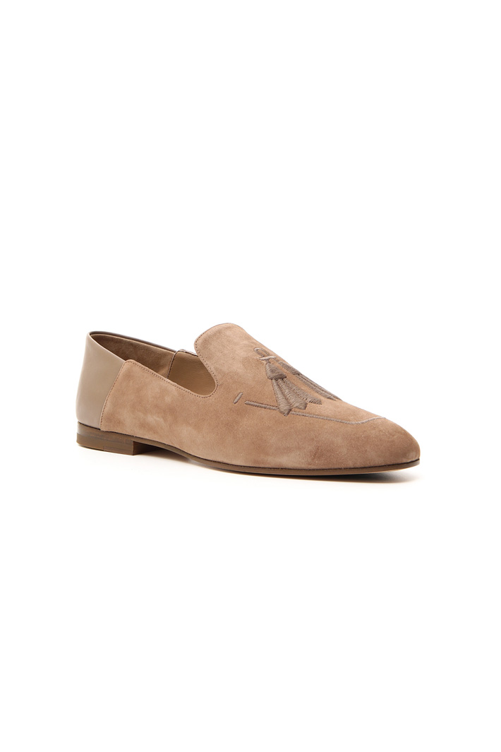 Suede loafer Intrend