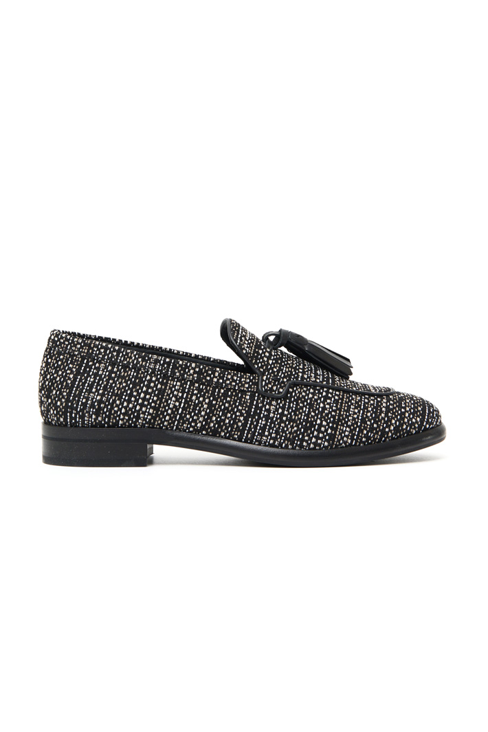 Tweed moccasin Intrend