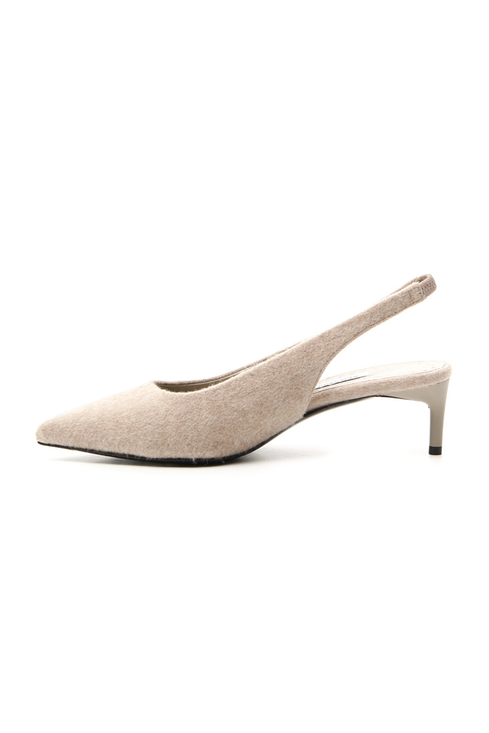 Cashmere slingback shoes Intrend