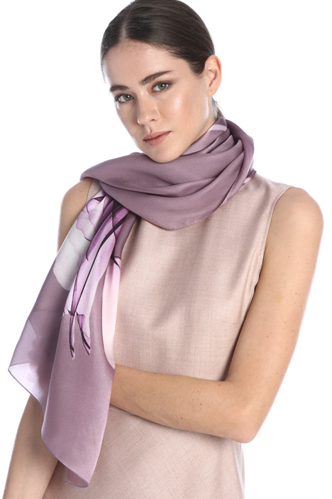 Silk satin stole Intrend