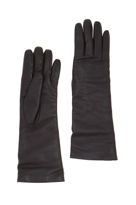 Wool and nappa leather gloves Intrend