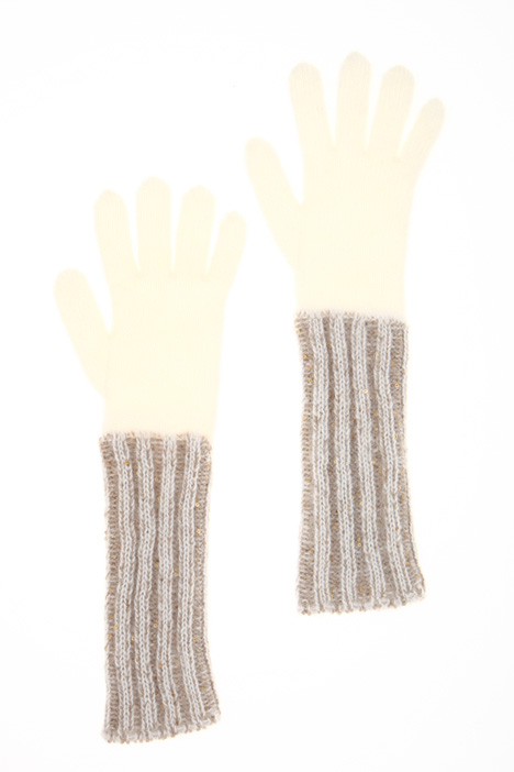 Knit mohair gloves Intrend