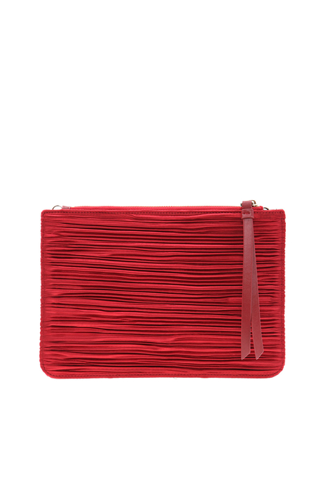 Pleated satin mini bag  Intrend