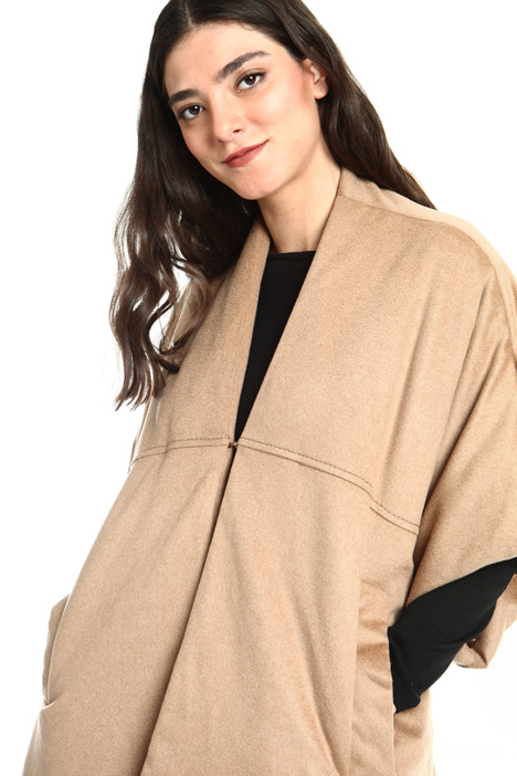 Padded camel cape Intrend