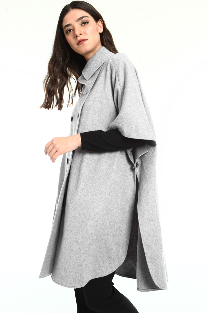 Cashmere cape Intrend