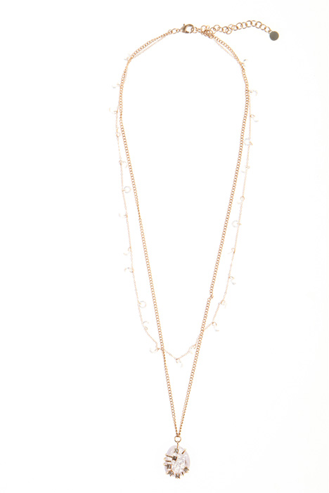 Double-strand necklace   Intrend