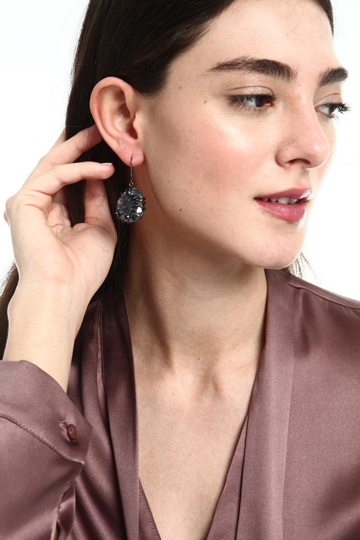Pendant charm earrings   Intrend