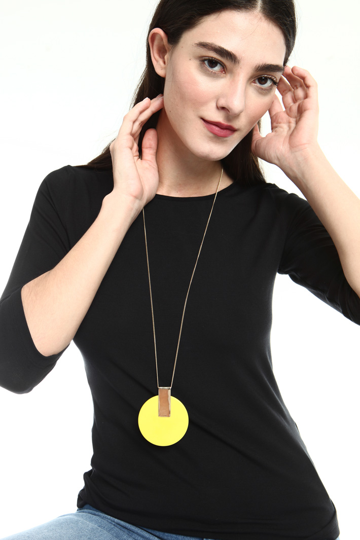 Disc necklace  Intrend