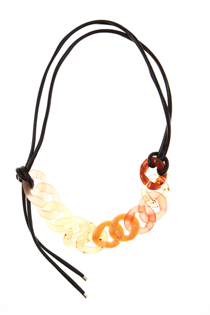 Necklace with maxi chain Intrend