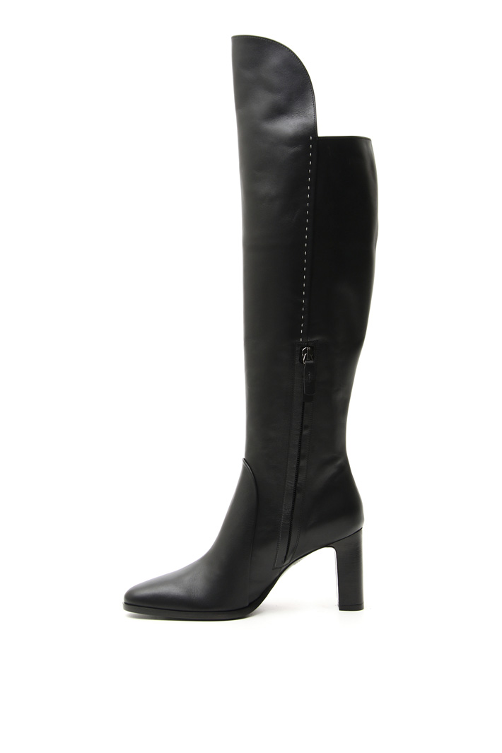 Leather boots Intrend