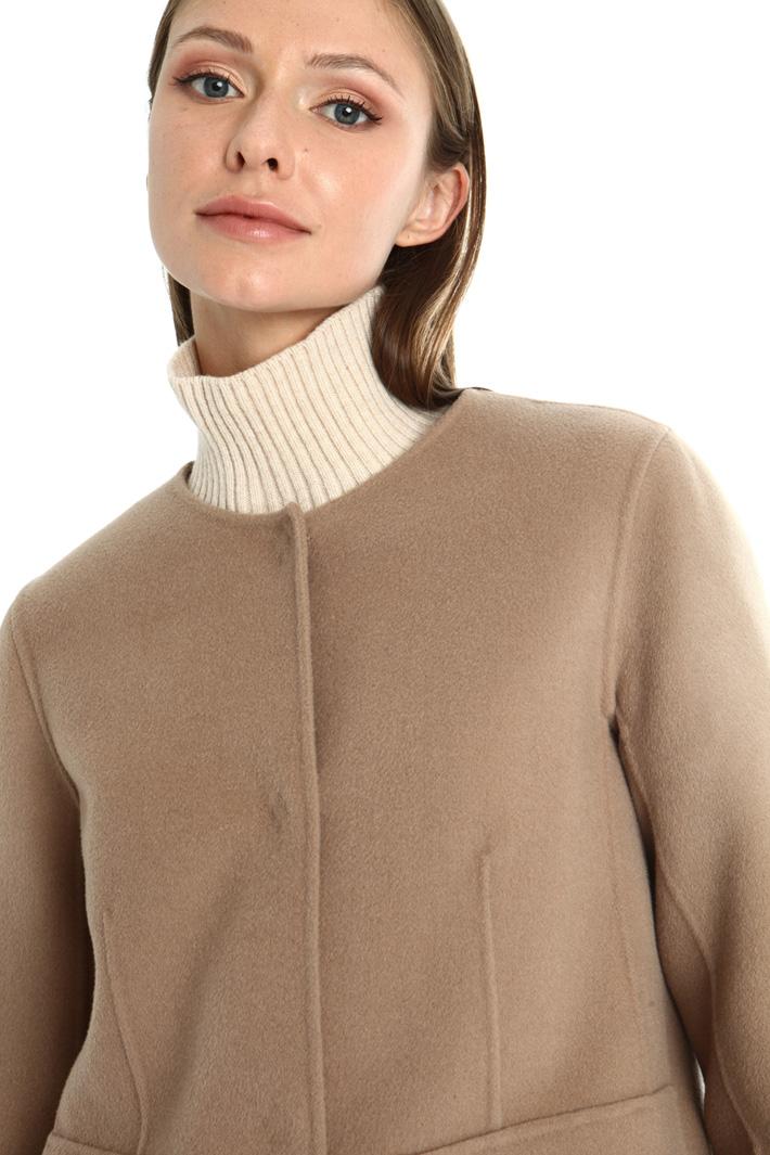 Double wool coat Intrend