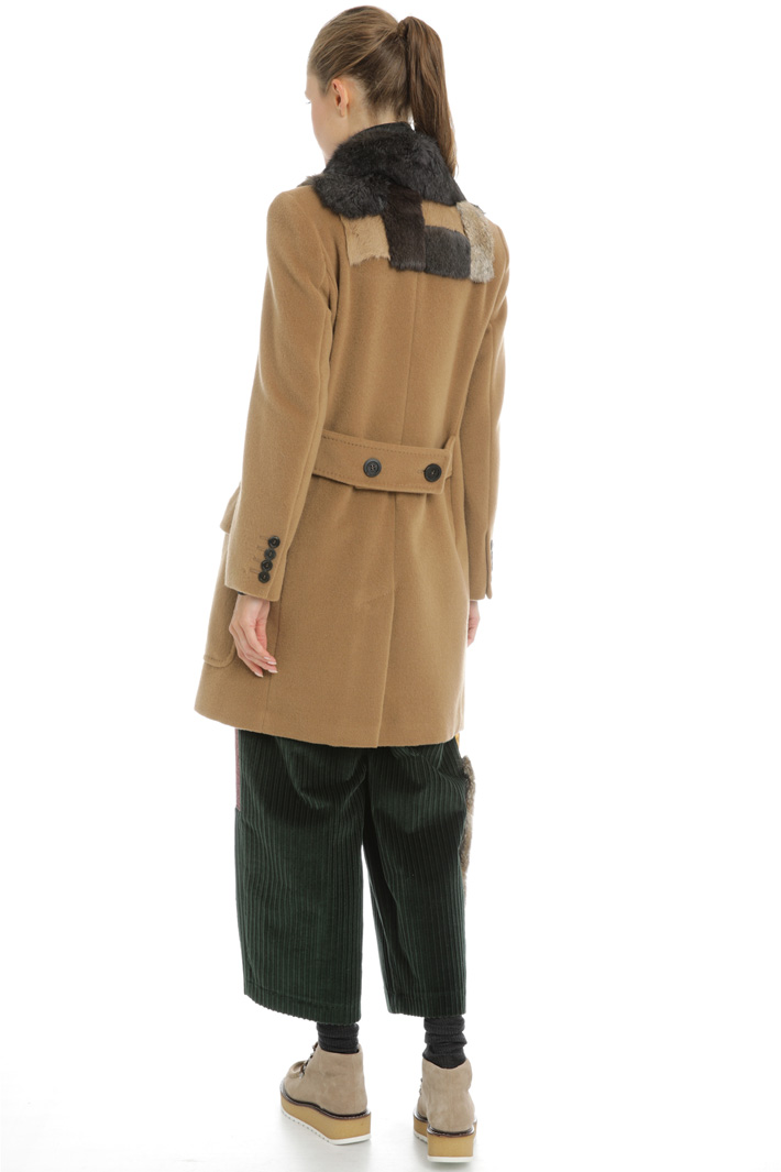 Beaver wool coat Intrend